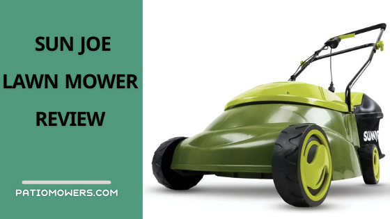 Sun Joe MJ401E Electric Lawn Mower Review With Grass Bag
